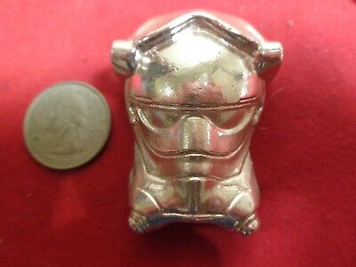 6.9+ Troy ounce .999 Silver. Hand Poured Starfighter Pilot design ingot   MFS