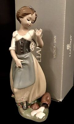 """RARE~Lladro """"Clumsy Me!"""" Princess (8537 Mint in Box) aka """"The Fable of Milkmaid"""""""