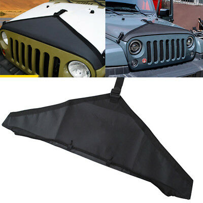 Hood Cover Front End Bra Protector Kit For Mopar Jeep Wrangler JK GYTH