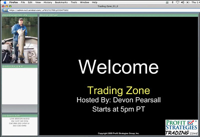 Profit Strategies Trading Zone Updating the RUT System Devon Pearsall 2010 DVD