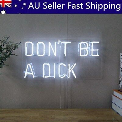 Neon Art Sign Visual Artwork For Bedroom Wall Home Party Bar Decor LED Light