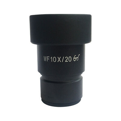 WF10X High Eye-point Eyepiece for Stereo Microscope with Rubber Eye Cups Scale