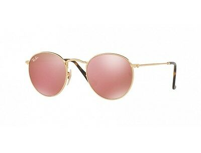 4be28d0c2c4503 RAY-BAN RB3447N 001 Z2 50mm Shiny Gold Frame Copper Flash Lens ...