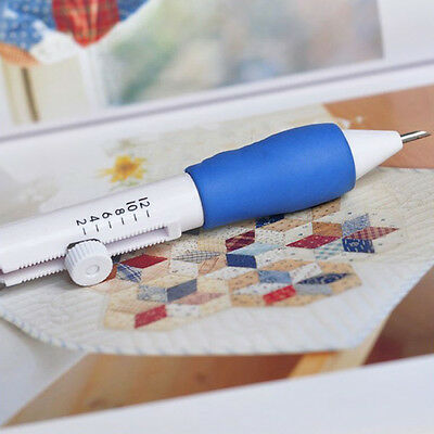 6pcs/Pack Embroidery Punch Needle Stitching Punching Punch Needle Tool Set AU