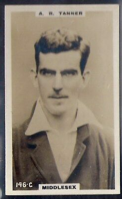 PHILLIPS-CRICKET ERS BROWN BACK F192-#146c- TANNER - MIDDLESEX