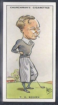 Churchman-Prominent Golf Ers (Standard Size)-#04- Bourn