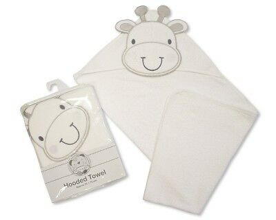 Baby Hooded Towel Natural Cotton Terry Towel