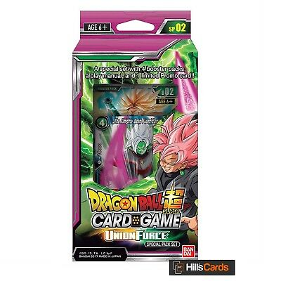 Dragon-Ball Super Card Game: Union Force Special Pack Set - SP02 Z