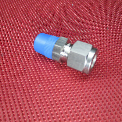 Ham-Let® 3/8 Tube OD x 1/4 NPT Male Pipe STRAIGHT CONNECTOR 316 Stainless Steel