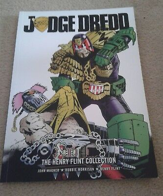 Judge Dredd The Henry Flint collection. A 2000AD graphic novel