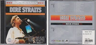 DIRE STRAITS Rock Stars 2003 Import 2 CD Set 32 Classic Hits 80s Anthology RARE