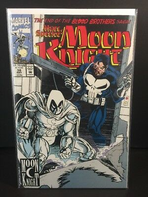 Marc Spector: Moon Knight #38 (May 1992, Marvel)