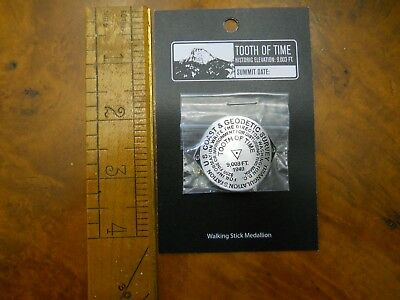 Philmont Tooth Of Time Benchmark Hiking Staff Medallion (New In Package)