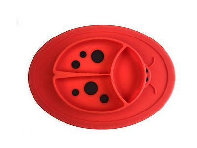 Silicone Mini Placemat for toddlers babies kids - LadyBird Design with IMPROV...