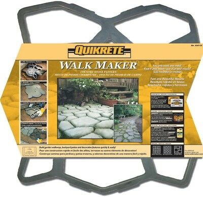 Quikrete 24 x 24 In. Country Stone Side Walk Maker Cobblestone-Look Molding
