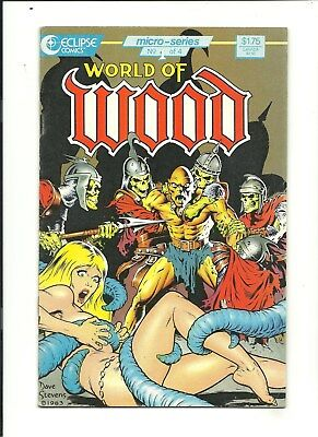 WORLD OF WOOD #1 AND #2 Tribute to Wally 1986