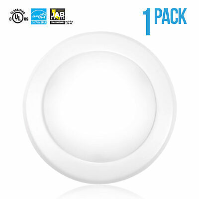 1 X 5-6 inch 15W Disk Light LED Dimmable Flush Mount Ceiling Junction Box