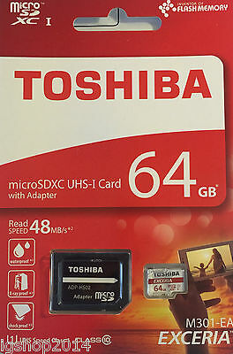 micro sd card 64 gb class 10 sdhc sdxc UHS-I capacity reale 40 mb/s for gopro