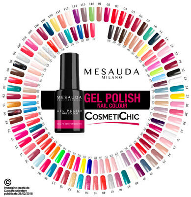 Mesauda Gel Polish 5Ml Tutti I Colori Semipermanenre Uv Led Offerta