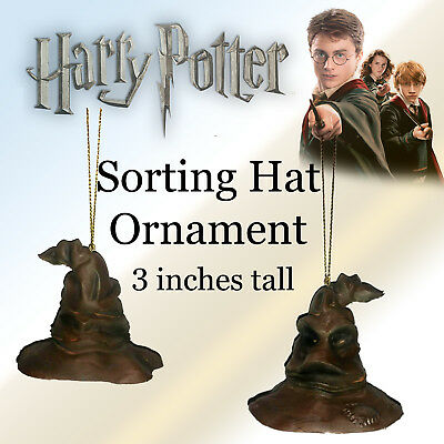"Harry Potter the Sorting Hat Ornament Brand new Handmade 3"" tall Holiday Charm"