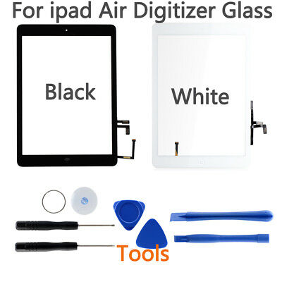 Touch Screen Digitizer Replacement Home Button For iPad 5 A1474 A1475 A1476