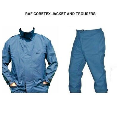 British Army Raf Gore-Tex Set - Jacket And Trousers - Waterproof - All Sizes