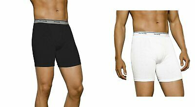 FRUIT OF THE LOOM Men's Boxer Briefs 6-pack SIZES S-3XL Famous Brand Packs