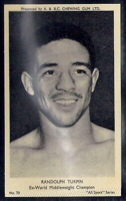 A&bc-All Sports (M120)-#070- Boxing - Randolph Turpin