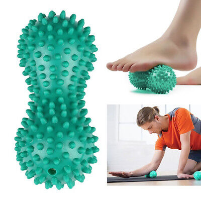 FX- Peanut Points Foot Massage Ball Roller Body Trigger Point Therapy Massager G