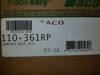 Taco 110-361RP  Bracket Assembly BRAND NEW IN FACTORY BOXES