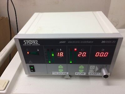 Karl Storz 23430520 20 liter electronic insufflator.  Good condition, Guaranteed