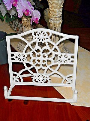 Metal Cookbook / Recipe Holder or Stand Bible Book Stand Heavy Weight!
