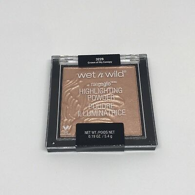 Wet n Wild MegaGlo Highlighter 'CROWN OF MY CANOPY' - 100% Authentic