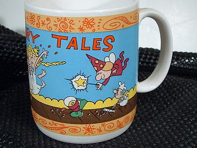 RARE GIFT- FRACTURED FAIRY TALES  Cup - Rocky&Bullwinkle Show  TOO CUTE!
