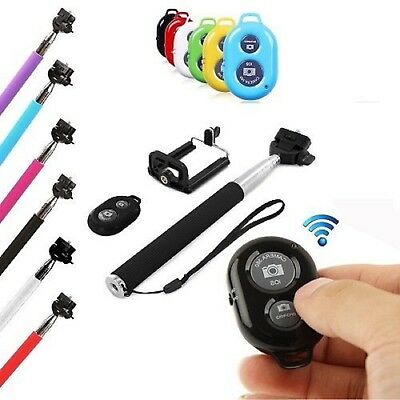 Selfie Stick Telescopic With Bluetooth Wireless Remote for Huawei Smartphones