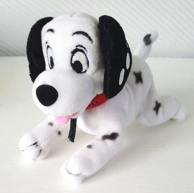 Disney 102 Dalmations Domino Pup Plush Soft Toy 15cm Winalot Promotion Beanie