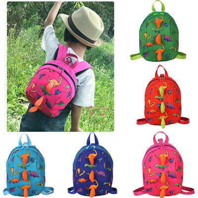 New Kids Safety Harness Backpack Leash Child Toddler Anti-lost Dinosaur Bag US
