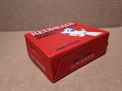 "Vintage REDHEADS MATCHES ""MATCH TRICKS"" PACK OF 10 BOXES UNOPENED  Australia"