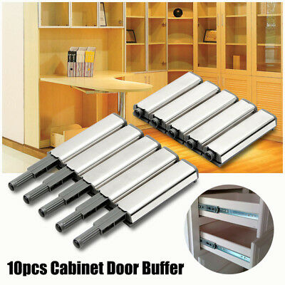 10 X Cabinet Door Drawer Catch Latch Push To Open System Damper Buffer Closer