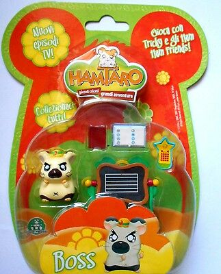 Boss Di Hamtaro Personaggio  Con Accessori Gpz06840