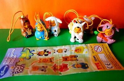 WINNIE THE POOH LOTTO 7  Mini Winnies Baby Spring Edition Tomy