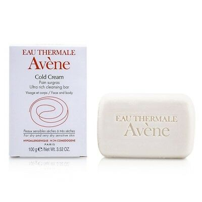 Avene Cold Cream Ultra Rich Cleansing Bar (For Dry & Very Dry Sensitive 100g