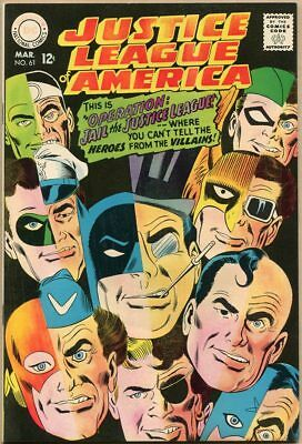 Justice League Of America #61 - VF-