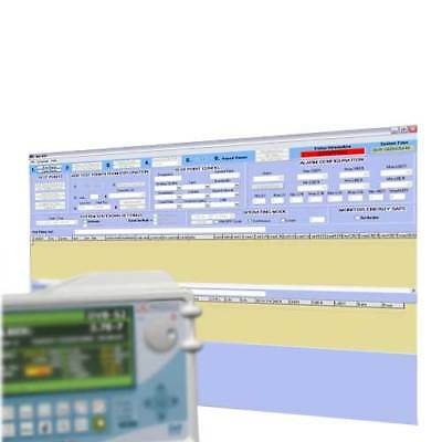 Promax RM-404 Software for Monitoring & Alarm Generation