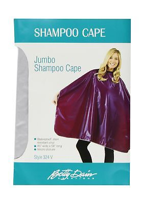 Betty Dain Jumbo Shampoo Cape, Silver