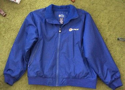 Vintage Pepsi Cola Jacket By Aramark XXL Taiwan New Old Stock Men's 2XL Mint!