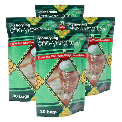 Cho Yung Green Tea 4 x 30 Tea Bags Detox Tea Burn Fat Weight Loss Summer Body