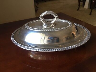 Silverplate Serving Dish with Lid