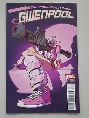 Unbelievable Gwenpool #1 - 1:50 Stacey Lee Variant  Marvel Comics