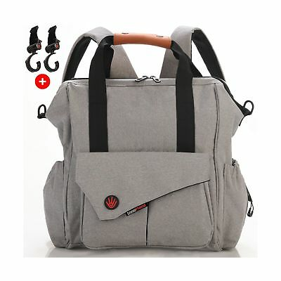 Nexpa Baby Diaper Bag Backpack W/ Stroller Straps & Changing Pad - Unisex Mul...